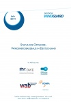 Cover - Fact Sheet Status des Offshore-Windenergieausbau in Deutschland