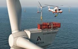 Abseiltraining: Windkraftanlagen Multibrid M5000