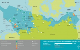 Overview Offshore Wind Farms in Germany - Dec. 2016