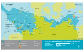 Overview Offshore Wind Farms in Germany - July 2016