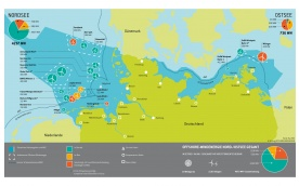 Übersicht Offshore Windparks Stand Mai 2015