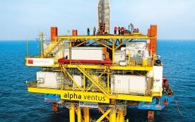 Im Herbst 2008 wurde das Umspannwerk im Testfeld alpha ventus errichtet.