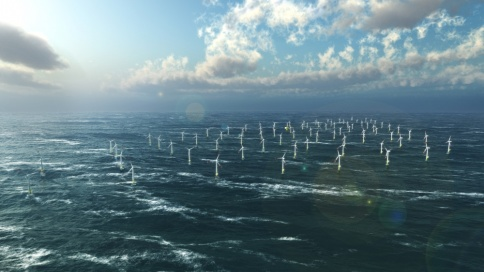 Animation Windpark Baltic2