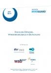 Cover - Fact Sheet Status des Offshore-Windenergieausbau in Deutschland